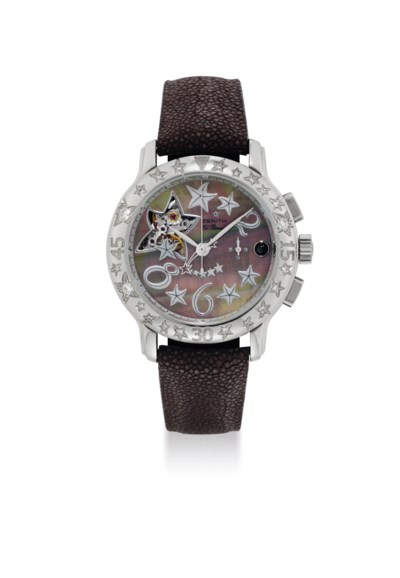 ZENITH. A LADY'S STAINLESS STE