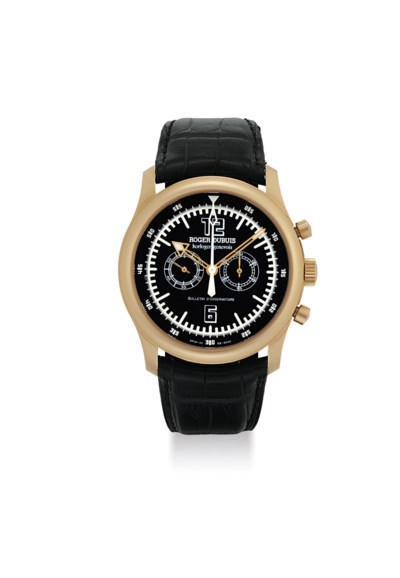 ROGER DUBUIS. A LARGE 18K PINK