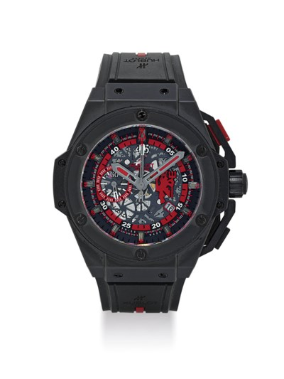HUBLOT. A RARE AND OVERSIZED T