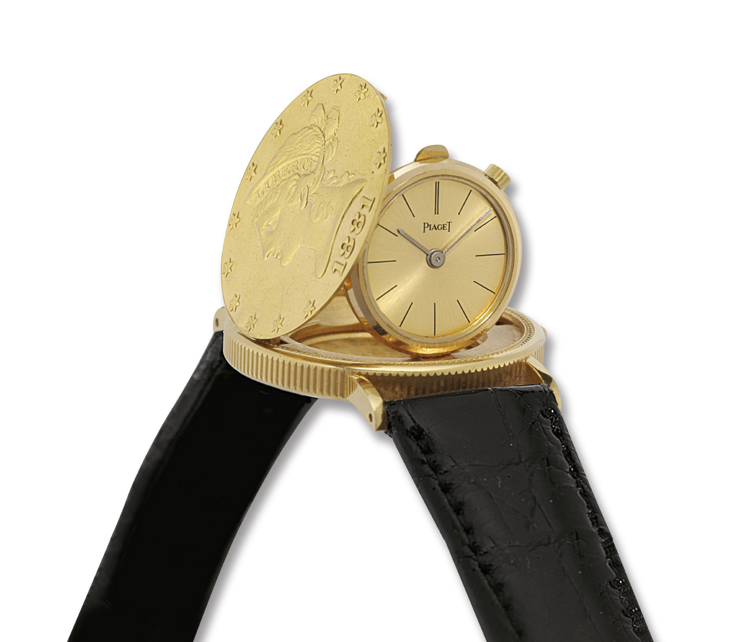 PIAGET. AN 18K TWO-COLOURED GO