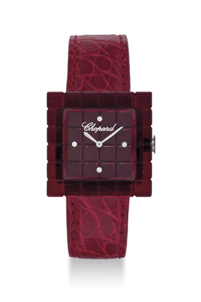 CHOPARD. A LADY'S RESIN AND DI