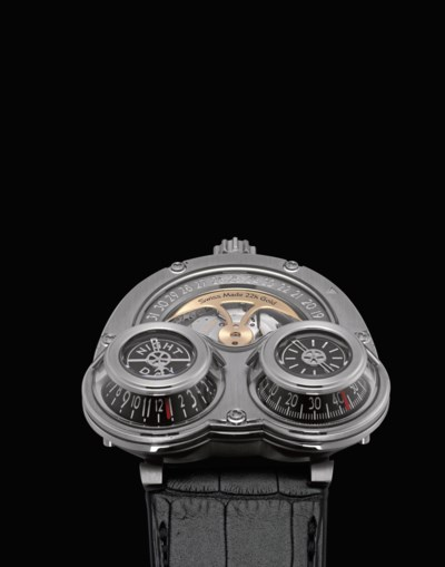 MB&F. A HIGHLY UNUSUAL AND OVE