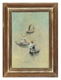 Four Men, Three Boats