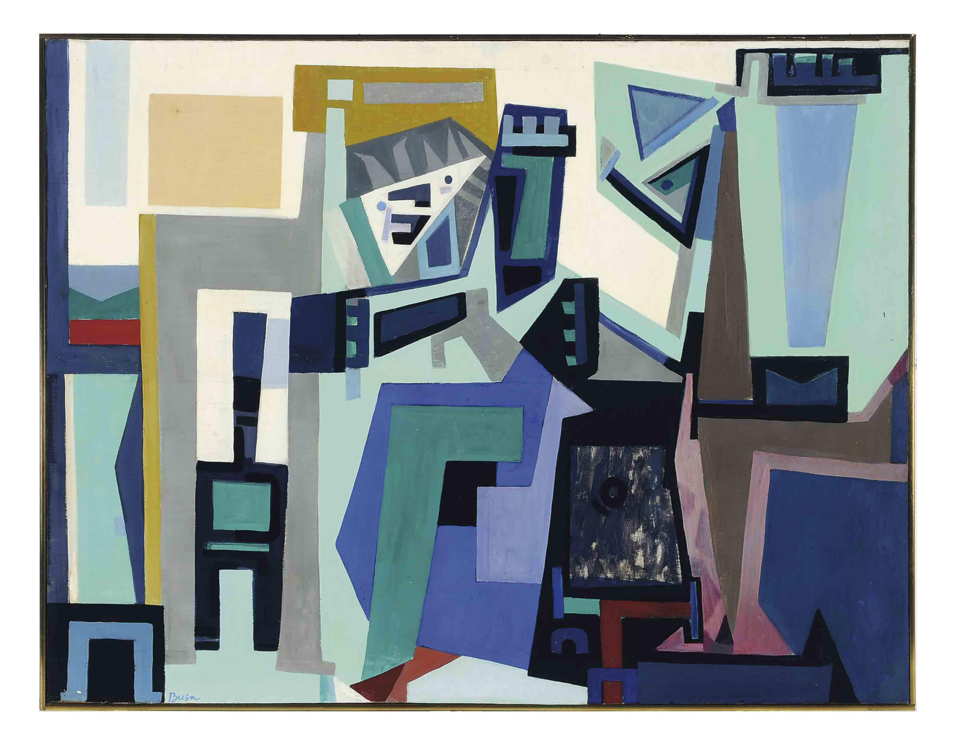 Peter Busa (AMERICAN, 1914-198