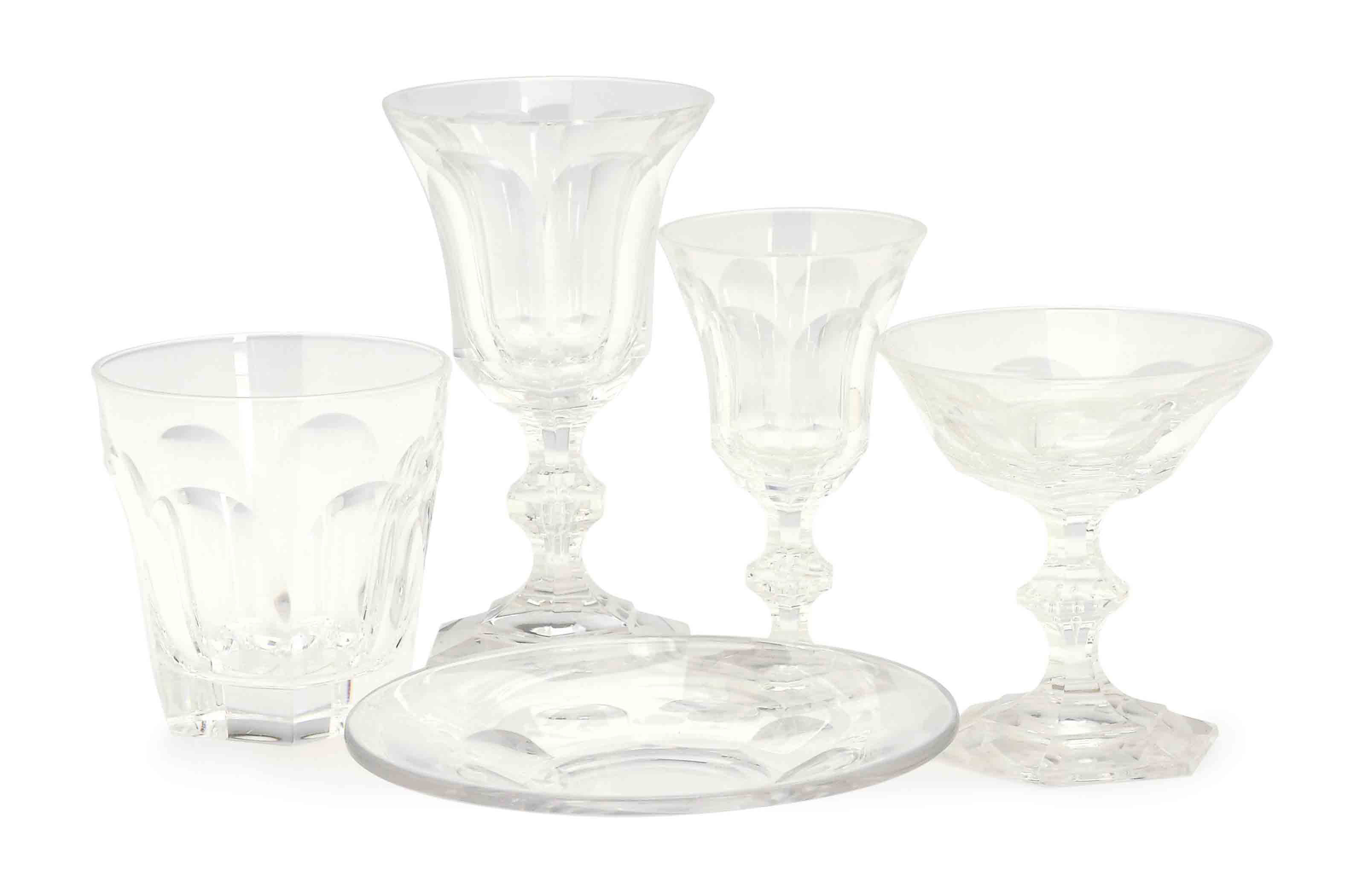 A CONTINENTAL COLORLESS GLASS
