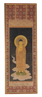 A JAPANESE PAINTING OF AMIDA B