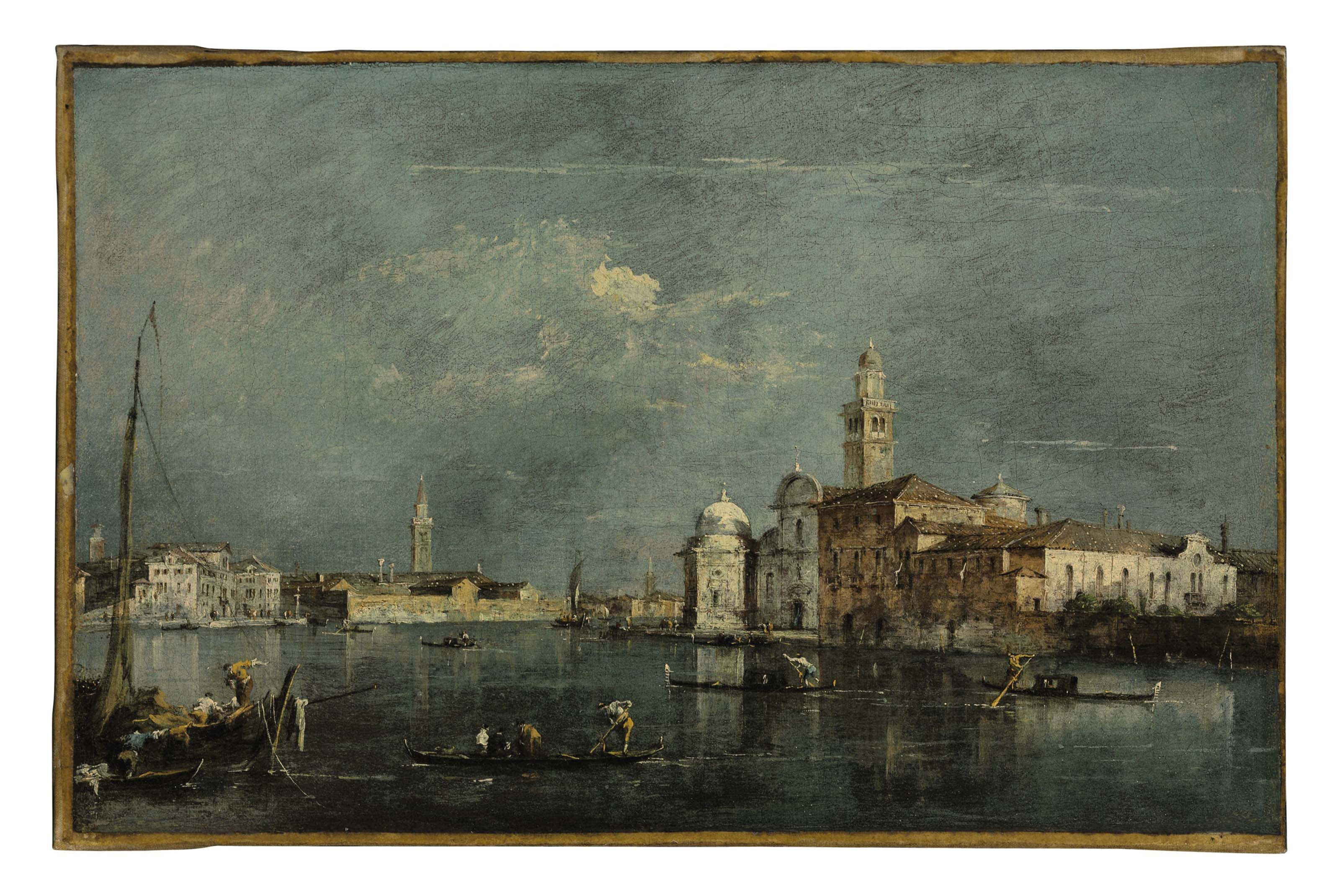 The Lagoon, Venice, with the islands of San Michele and Murano beyond
