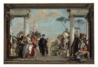 The Arrival of Henry III at the Villa Contarini