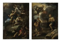 The Sacrifice of Isaac; and The Sacrifices of Abel and Cain