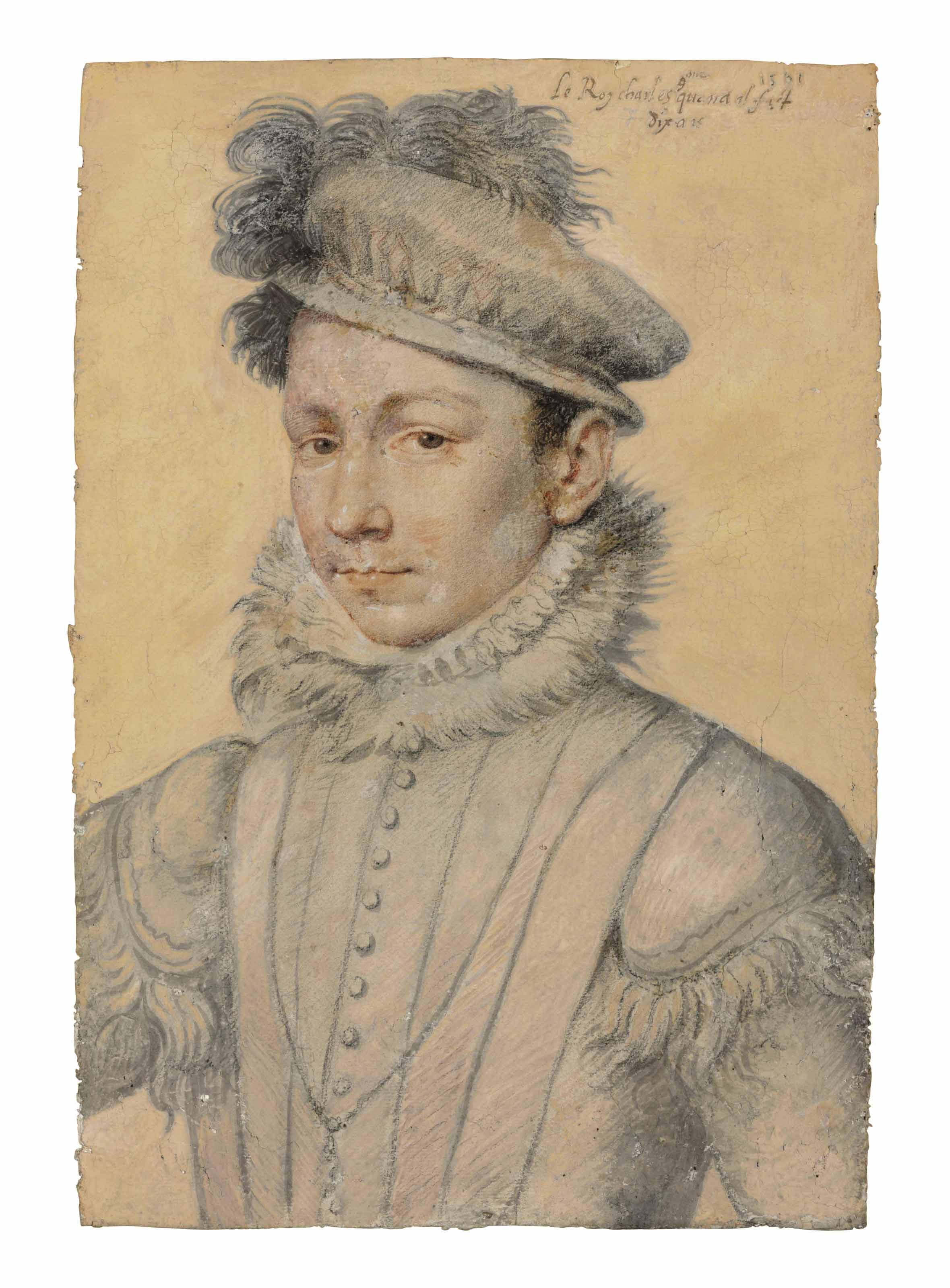 François Clouet (Tours circa 1515-1572 Paris)