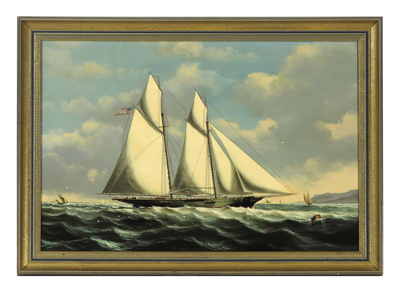 "The Schooner Yacht ""Susannha"" off Boston"