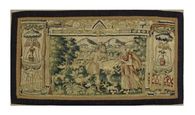 A BRUSSELS BAROQUE TAPESTRY FR