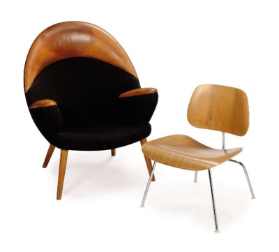 A GROUP OF TWO MODERNIST CHAIR