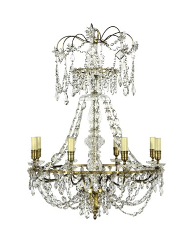 A DIRECTOIRE GILT-BRONZE AND C