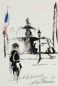 Place de la Concorde, Paris; and a companion work
