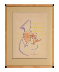 Chef tasting wine