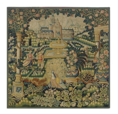 A CONTINENTAL VEDURE TAPESTRY,
