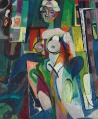 Semi-Abstract Nude