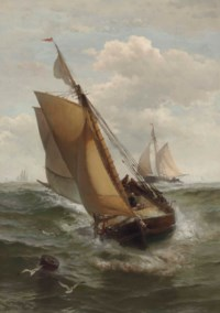 Fishing Boat in the English Channel
