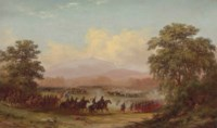 Opening of the Battle of Gettysburg and Death of General Reynolds