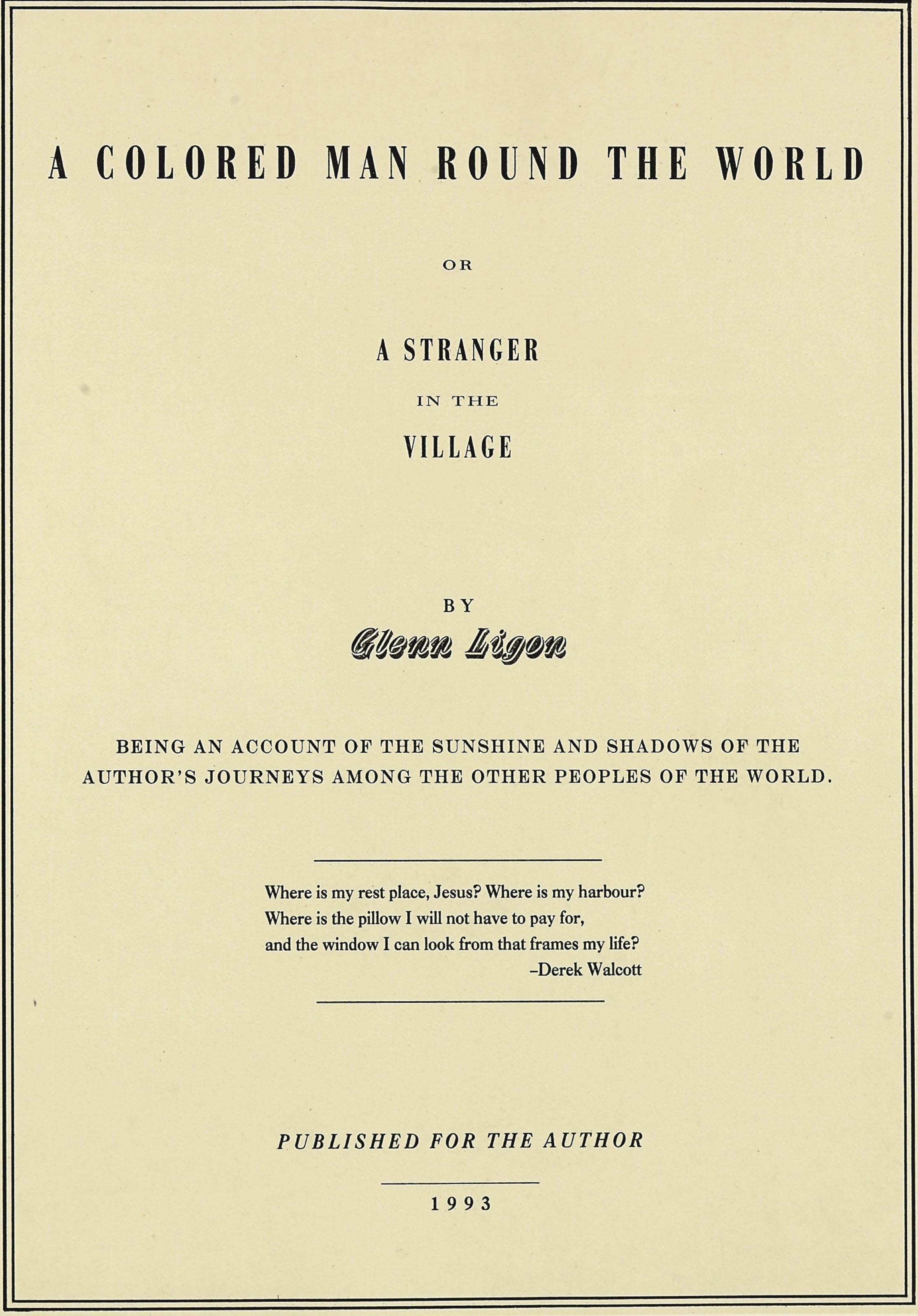 Glenn Ligon (b. 1960)
