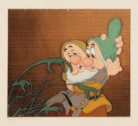Sneezy and Bashful from 'Snow White and The Seven Dwarfs'