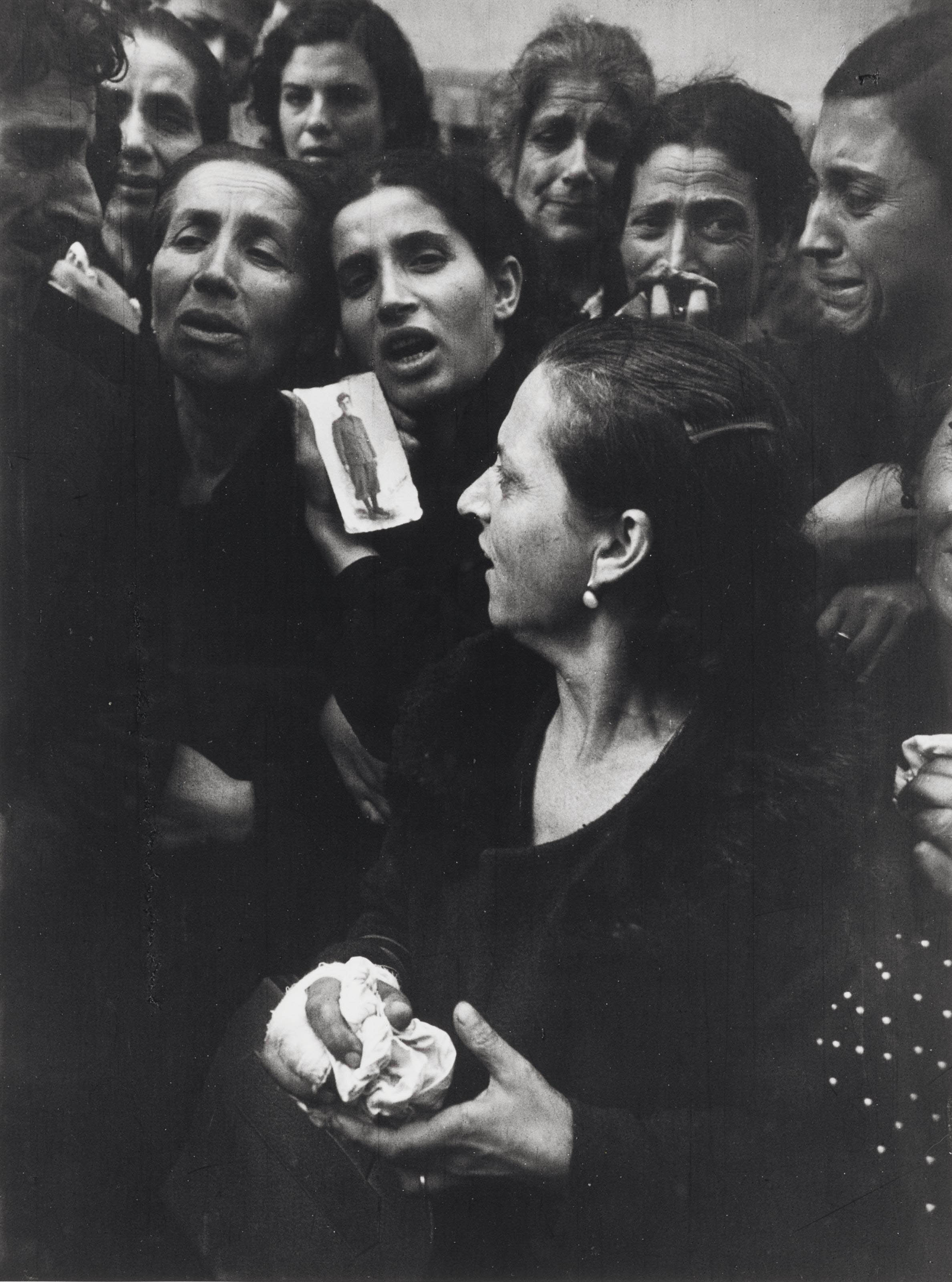 Mother of Naples, Italy, 1943