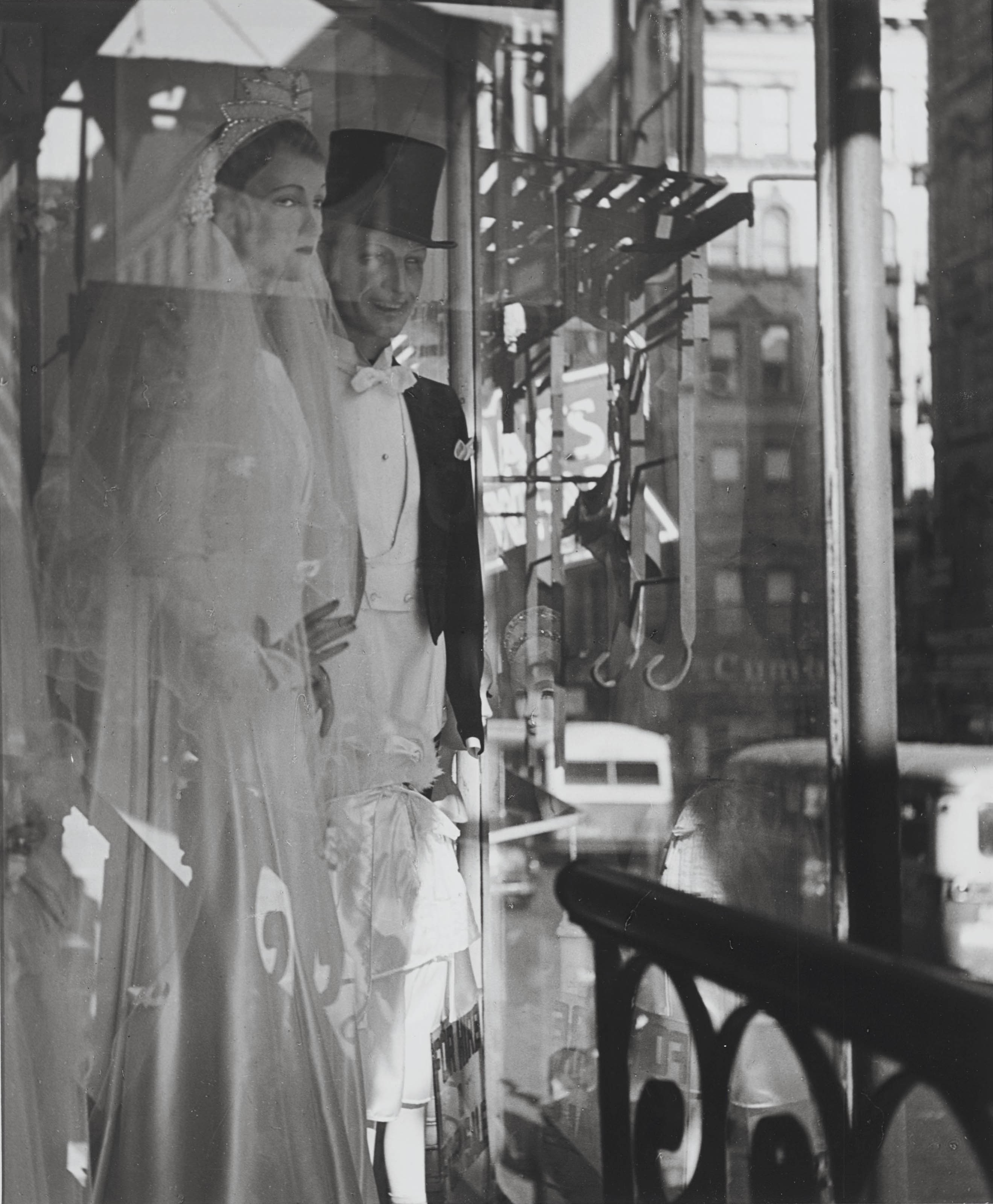 Window, Bridal Couple, New York, 1939-1945