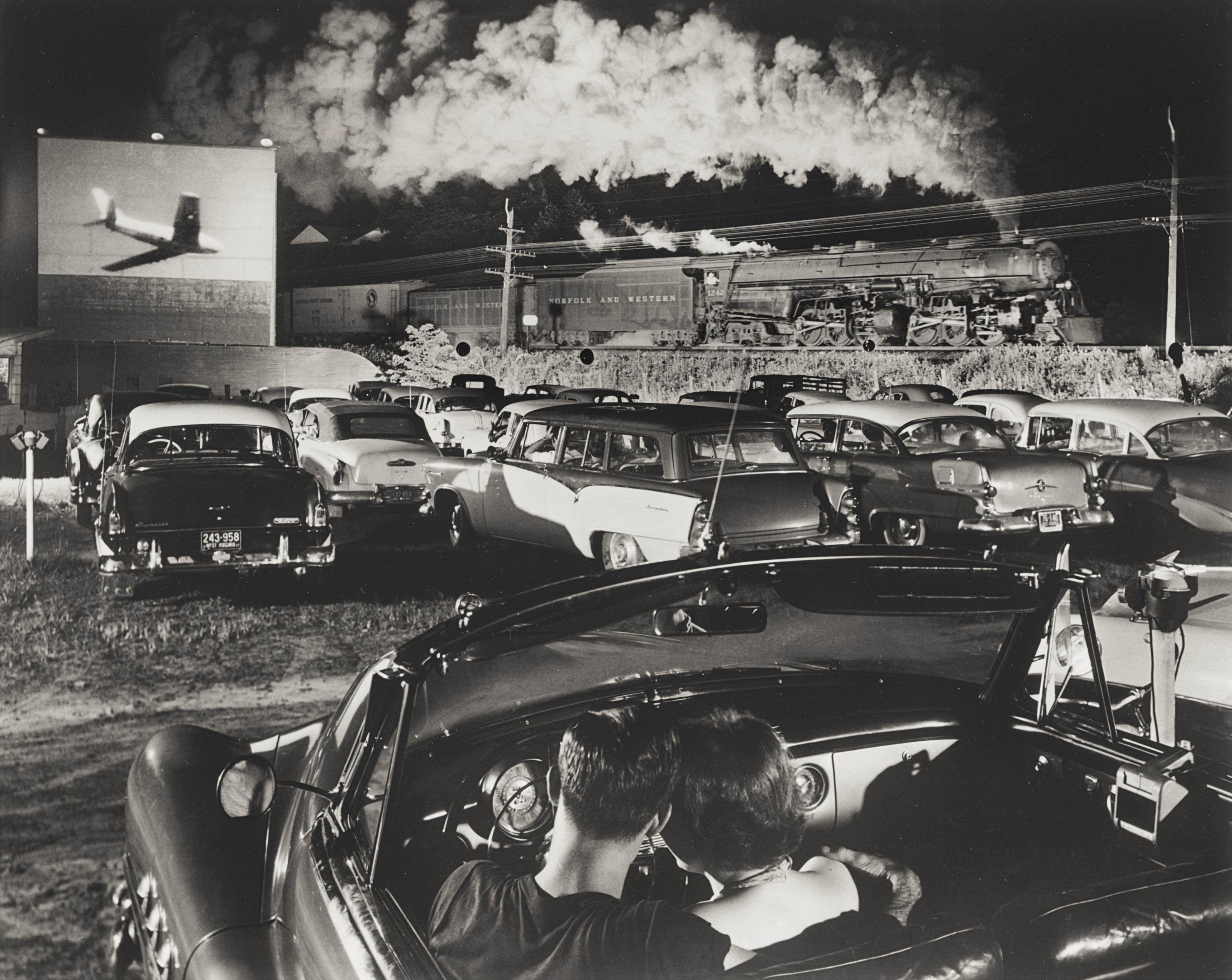 Hotshot, Eastbound, Iager, West Virginia, 1956