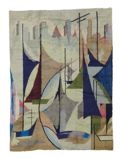 A FRENCH ART DECO CARPET