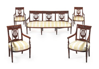 A SUITE OF DIRECTOIRE CHERRYWO