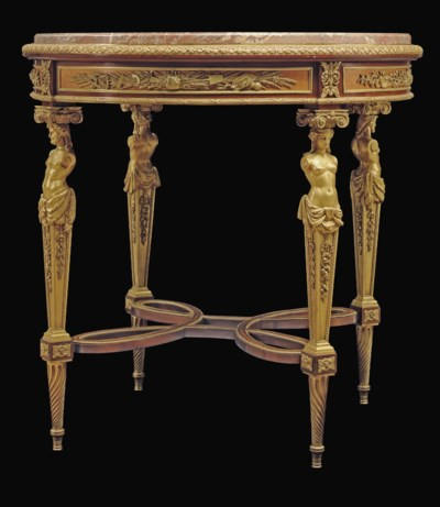 A FINE FRENCH ORMOLU-MOUNTED M