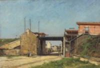 Relèvement du chemin de fer de ceinture, Station du Bel Air et rue Montempoivre