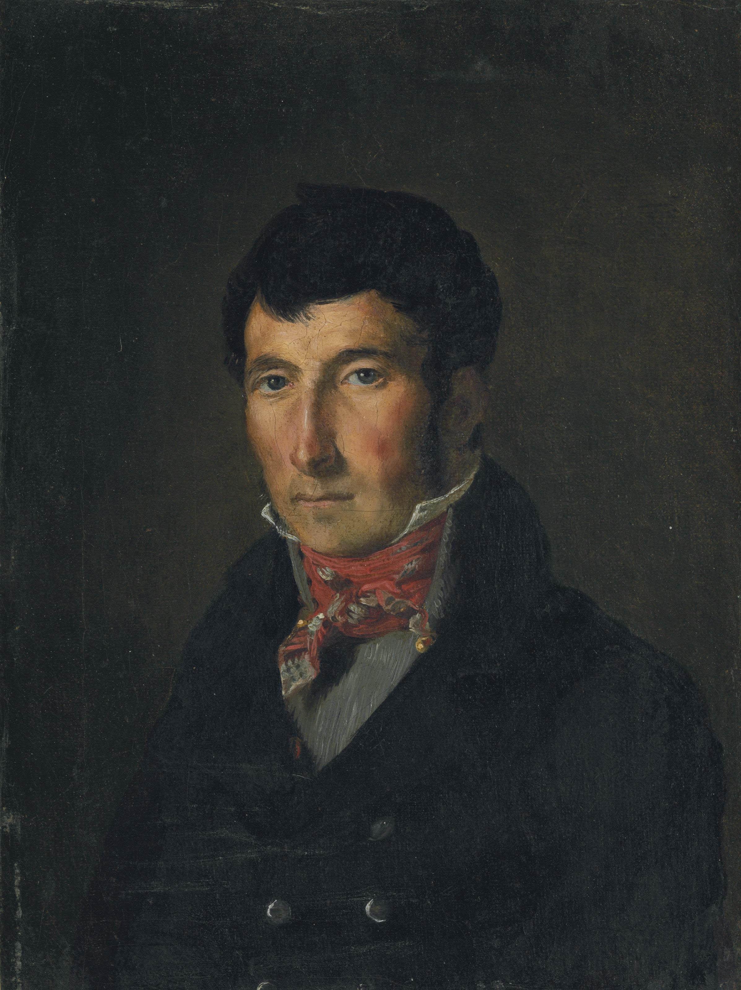Portrait de Fougerat