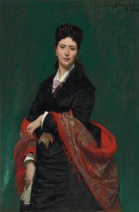 Portrait of Madame Marie Clerc