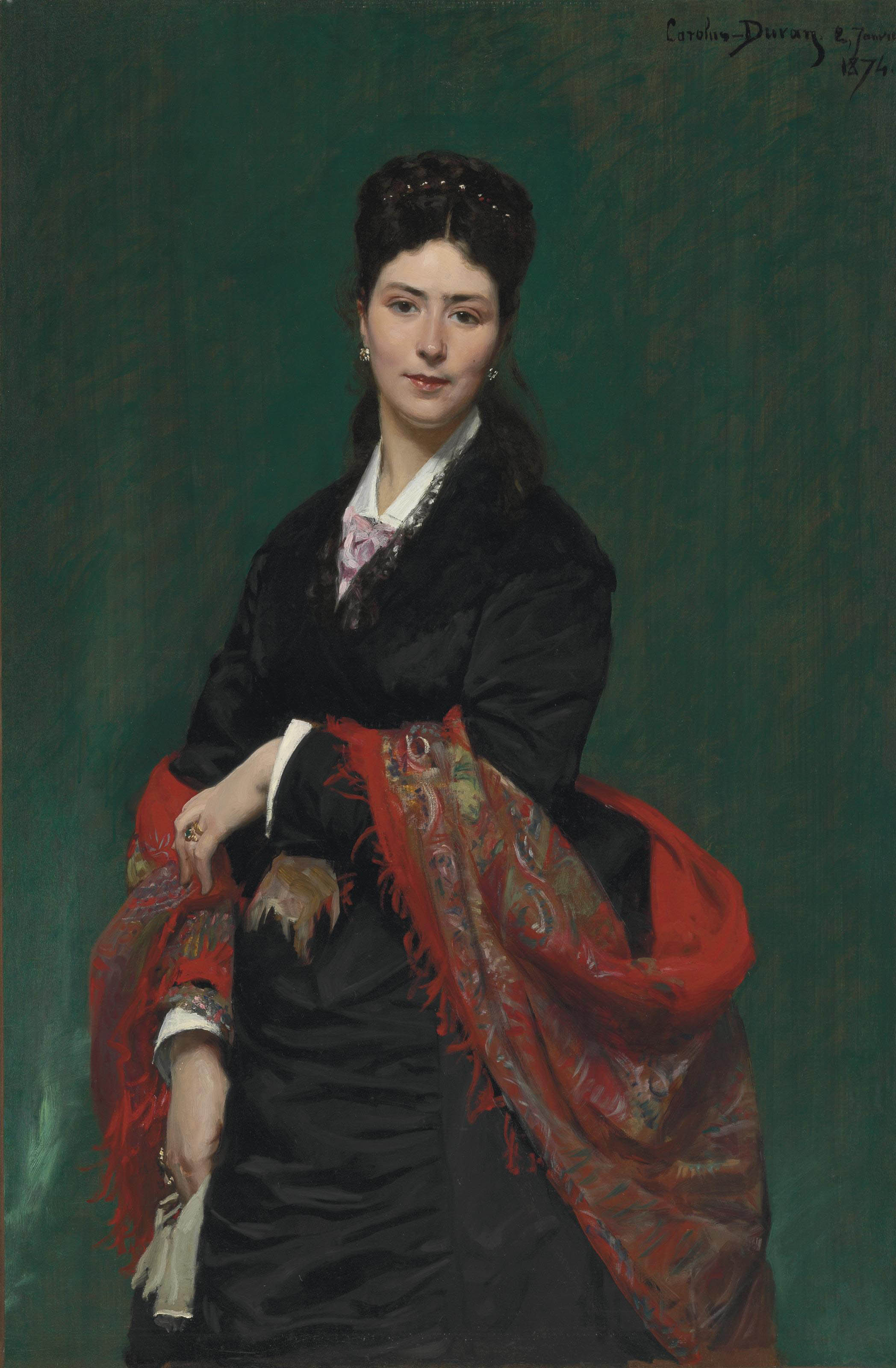 Portrait of Madame Marie Clerc