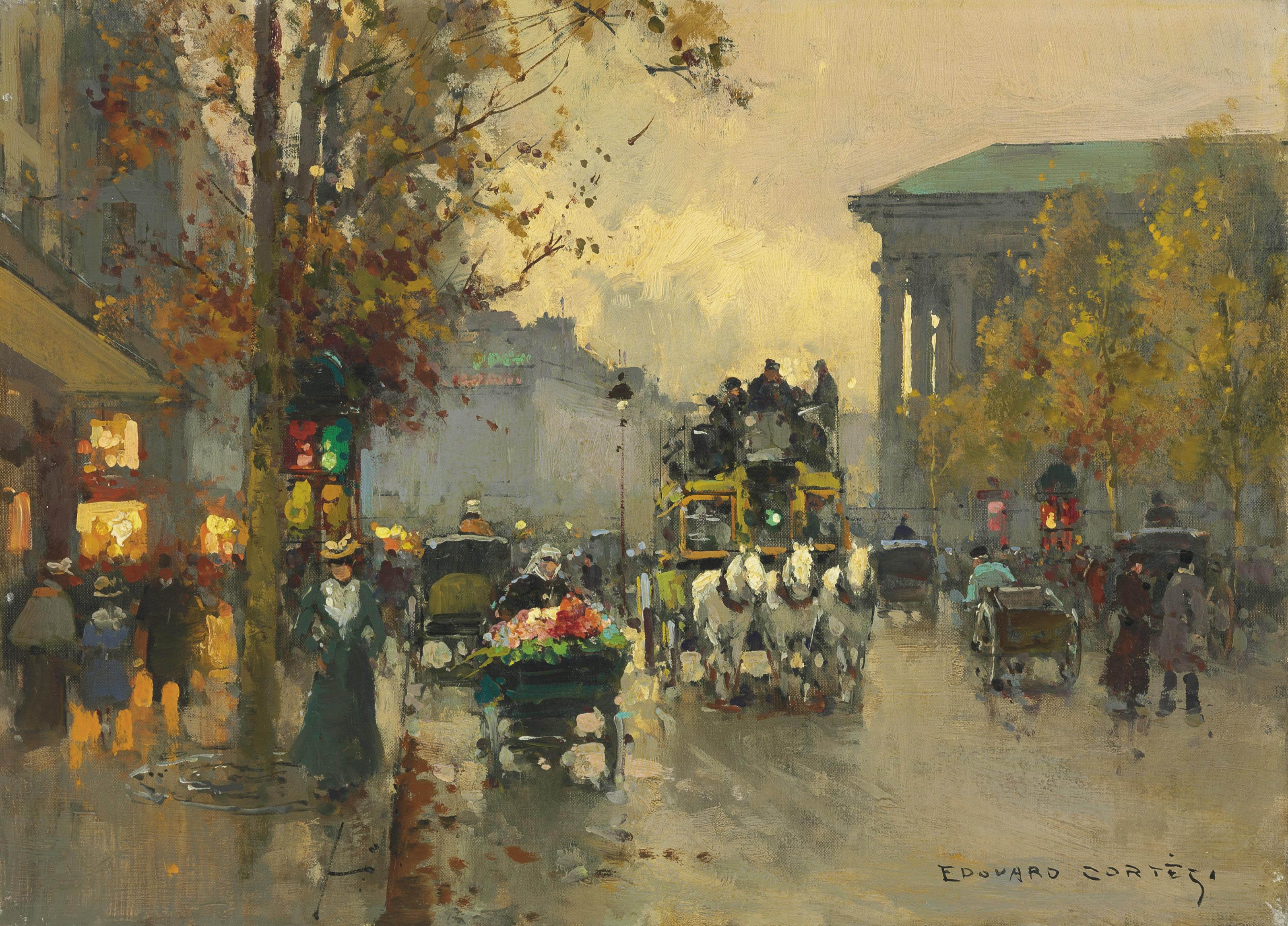 Edouard-Léon Cortès (French, 1