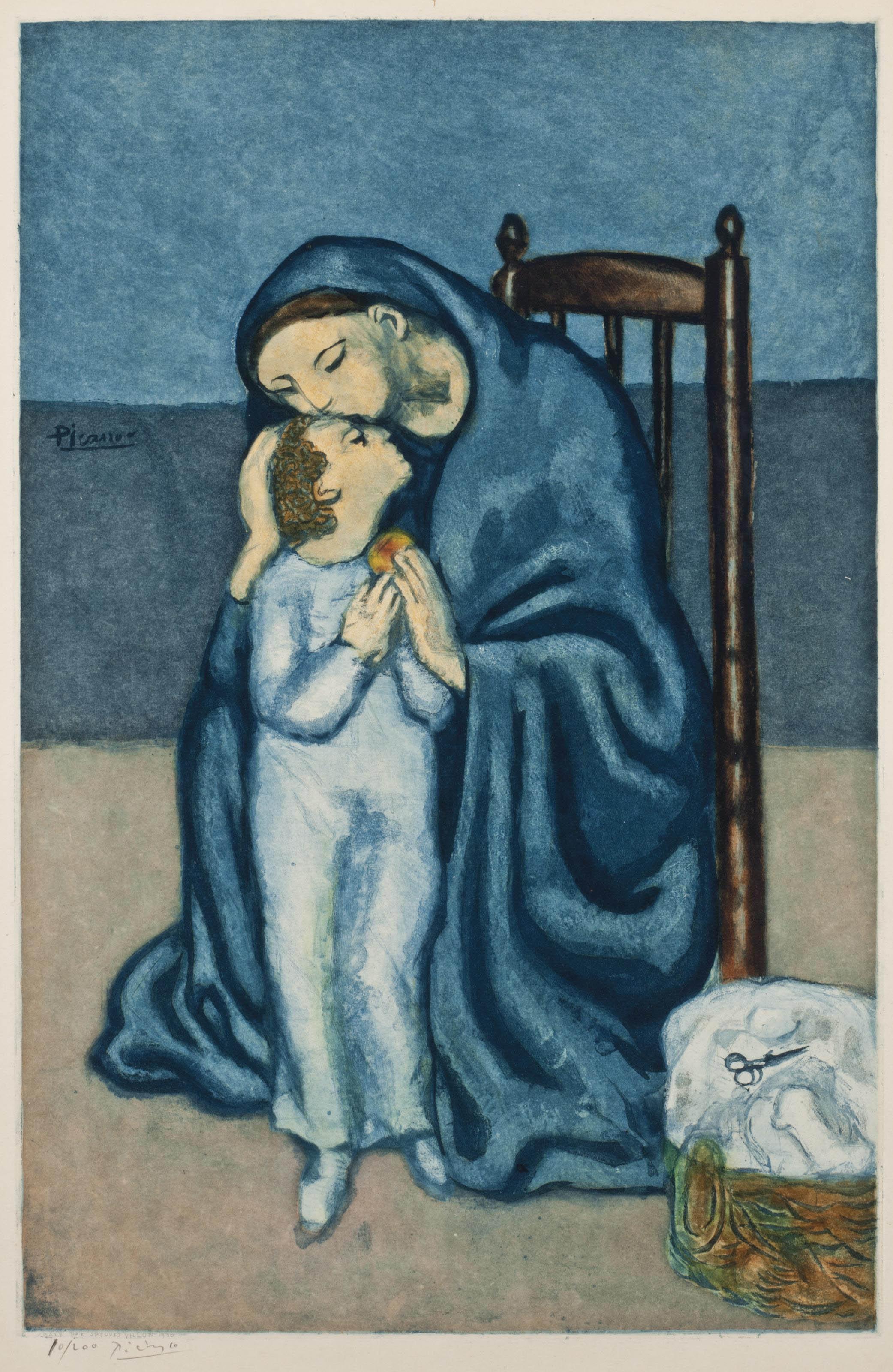 AFTER PABLO PICASSO BY JACQUES VILLON (1875-1963) | Maternité ...