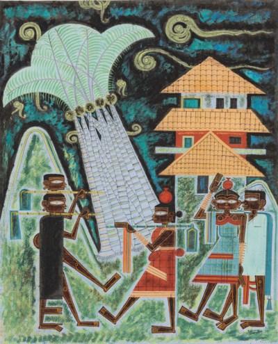LAXMAN PAI (B. 1926)