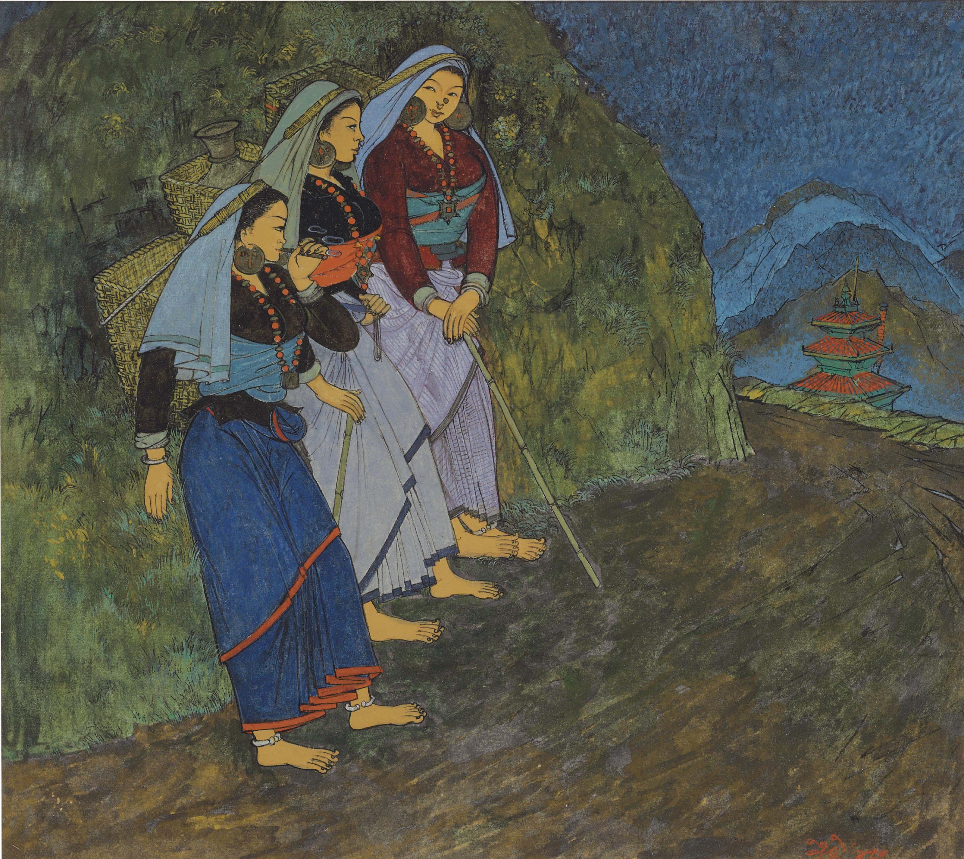 Darjeeling Cooli Girls