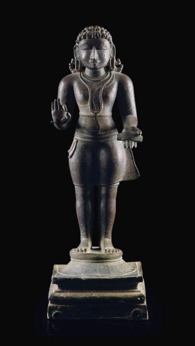 A rare bronze figure of Manikk