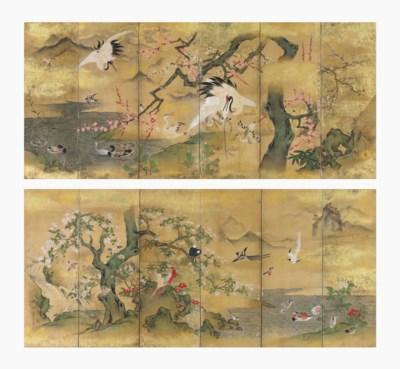 Kano Toun Masunobu (1625-1694)