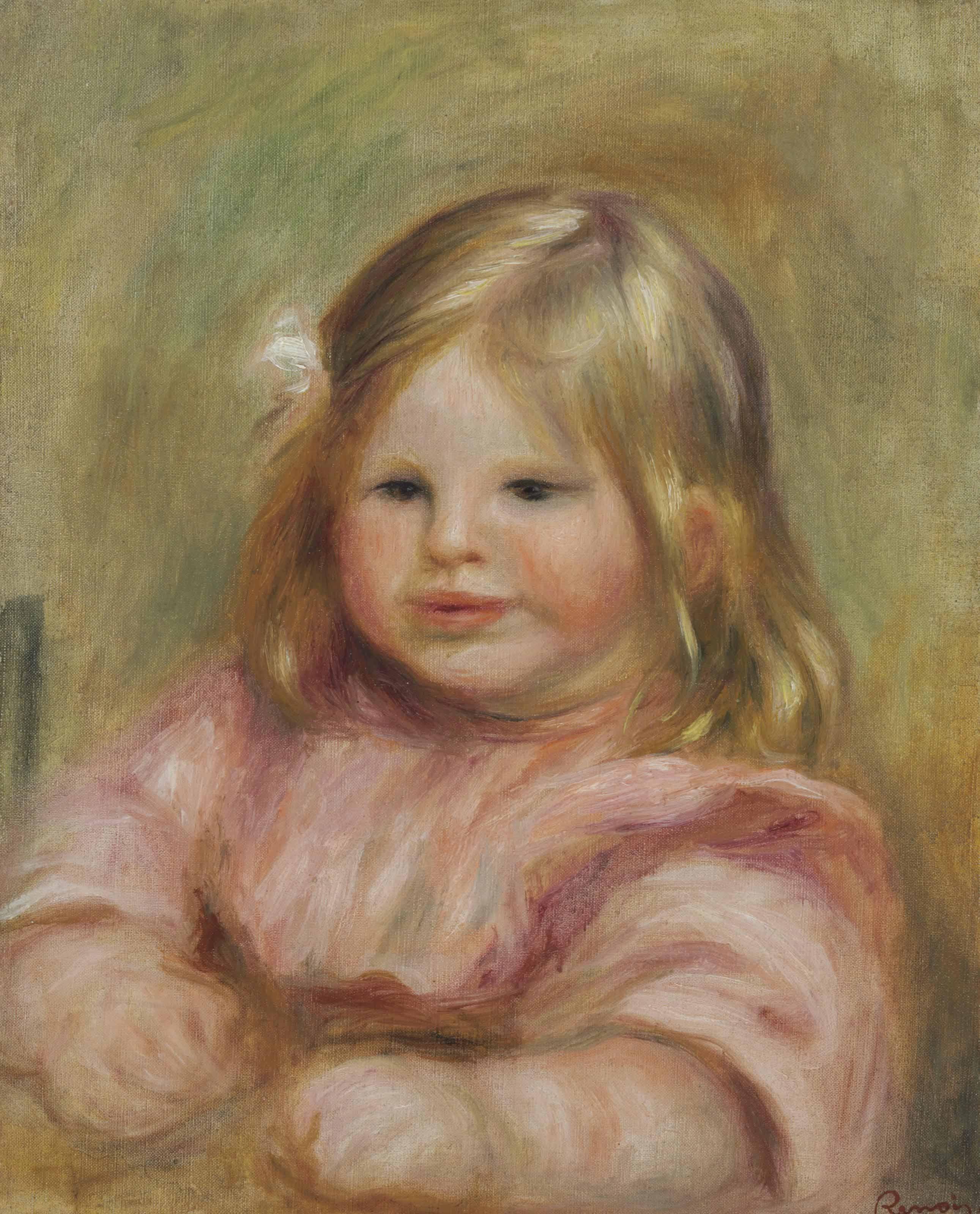 Pierre-Auguste Renoir (1841-1919) , Portrait de Coco ...