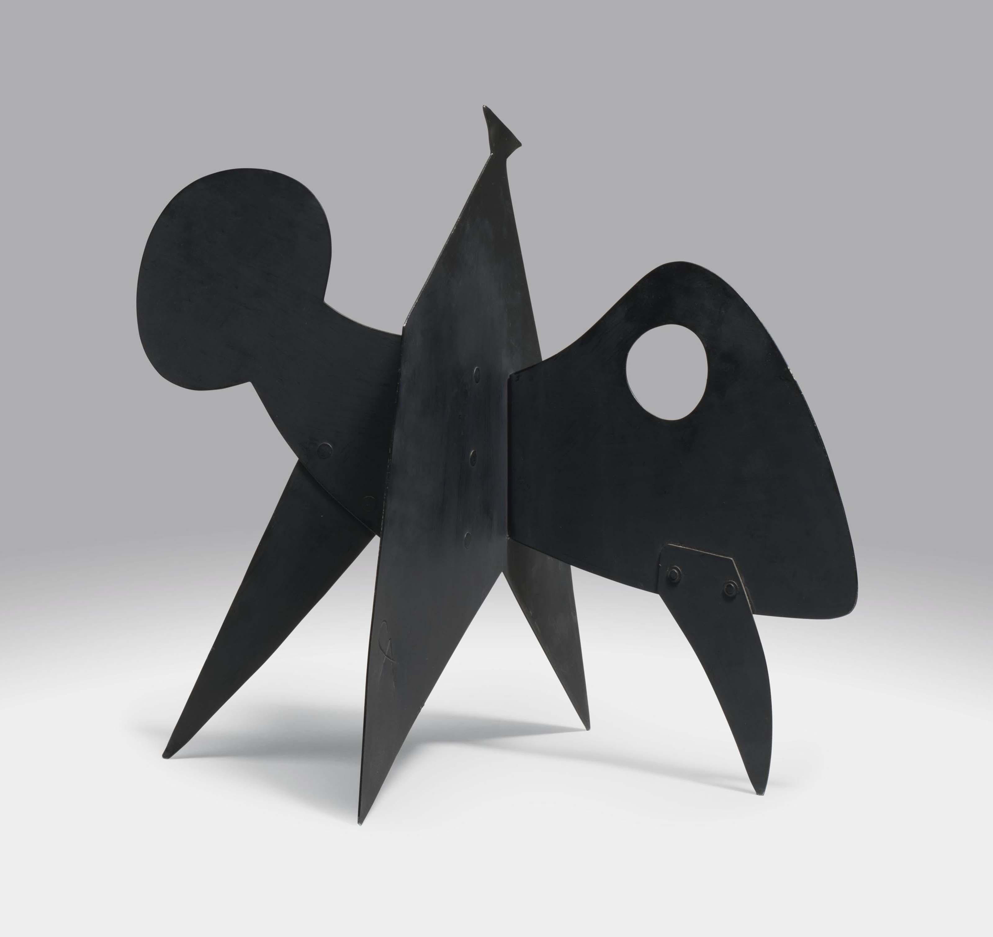 Alexander Calder 1898 1976 Eye Anvil And Mushroom
