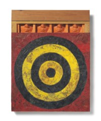 Johns Target with Four Faces