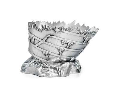 AN AMERICAN SILVER ICE BOWL