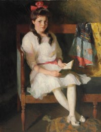 Portrait of Gertrude Russell