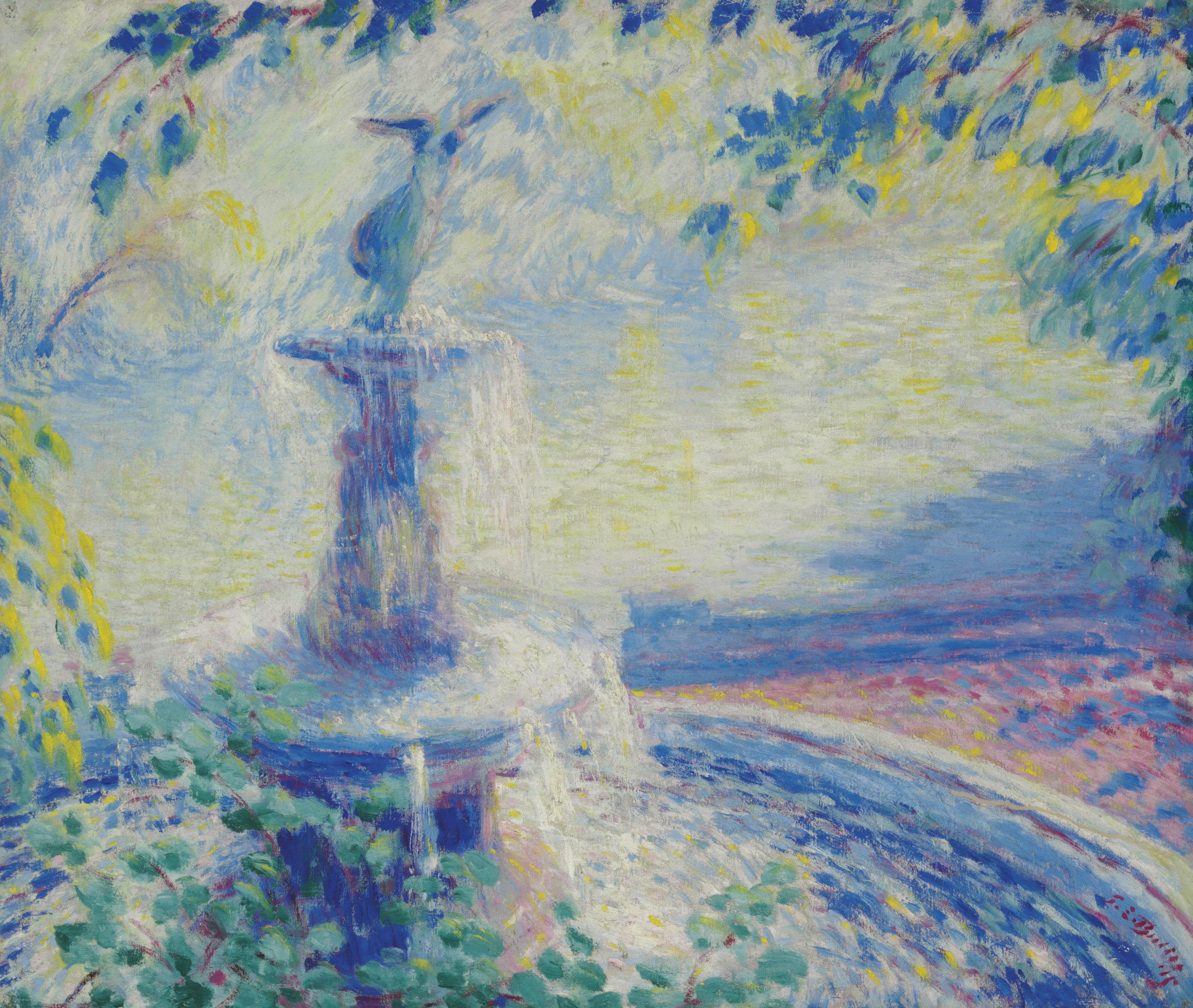 Fountain, Central Park
