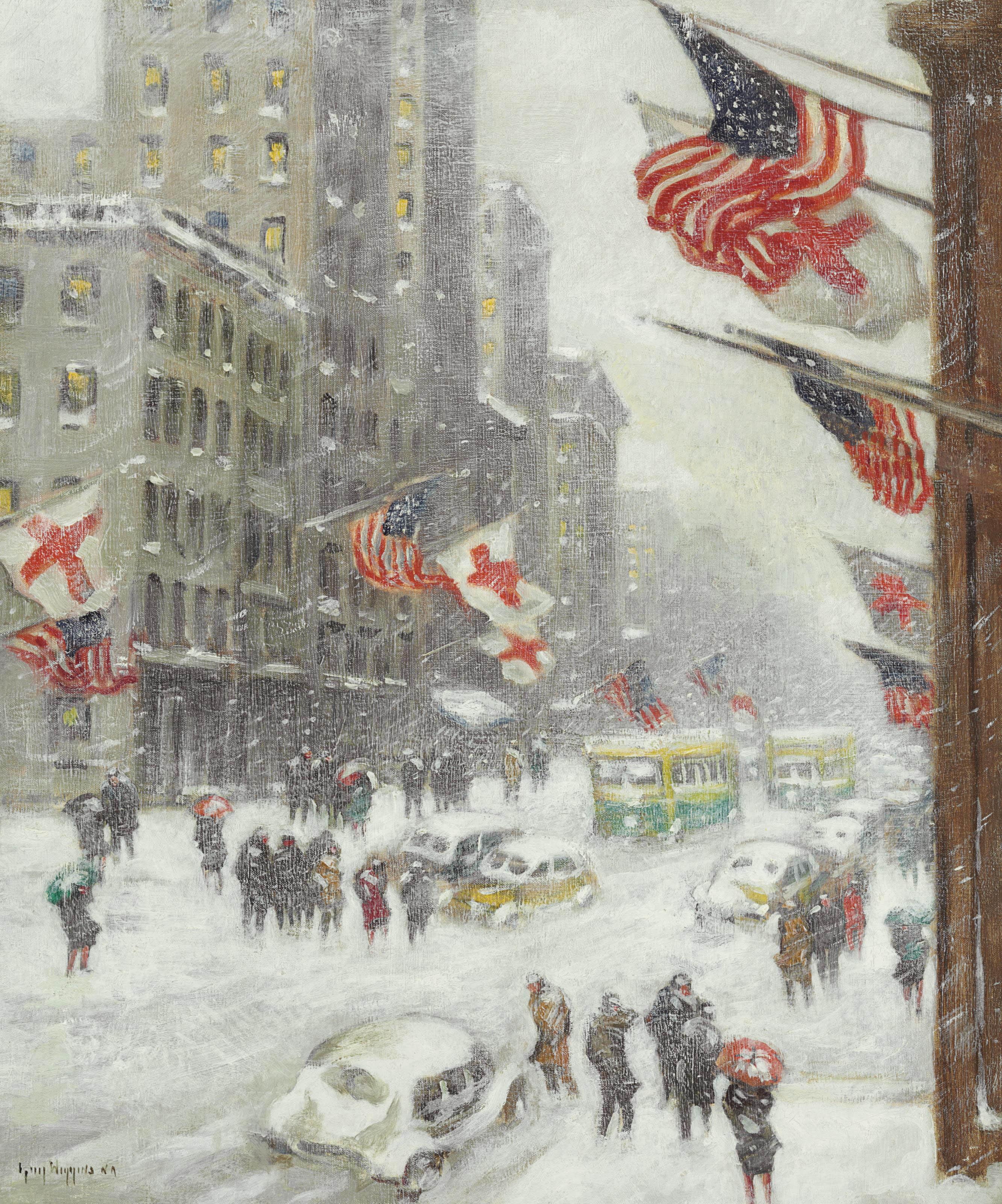 Fifth Avenue in Wartime