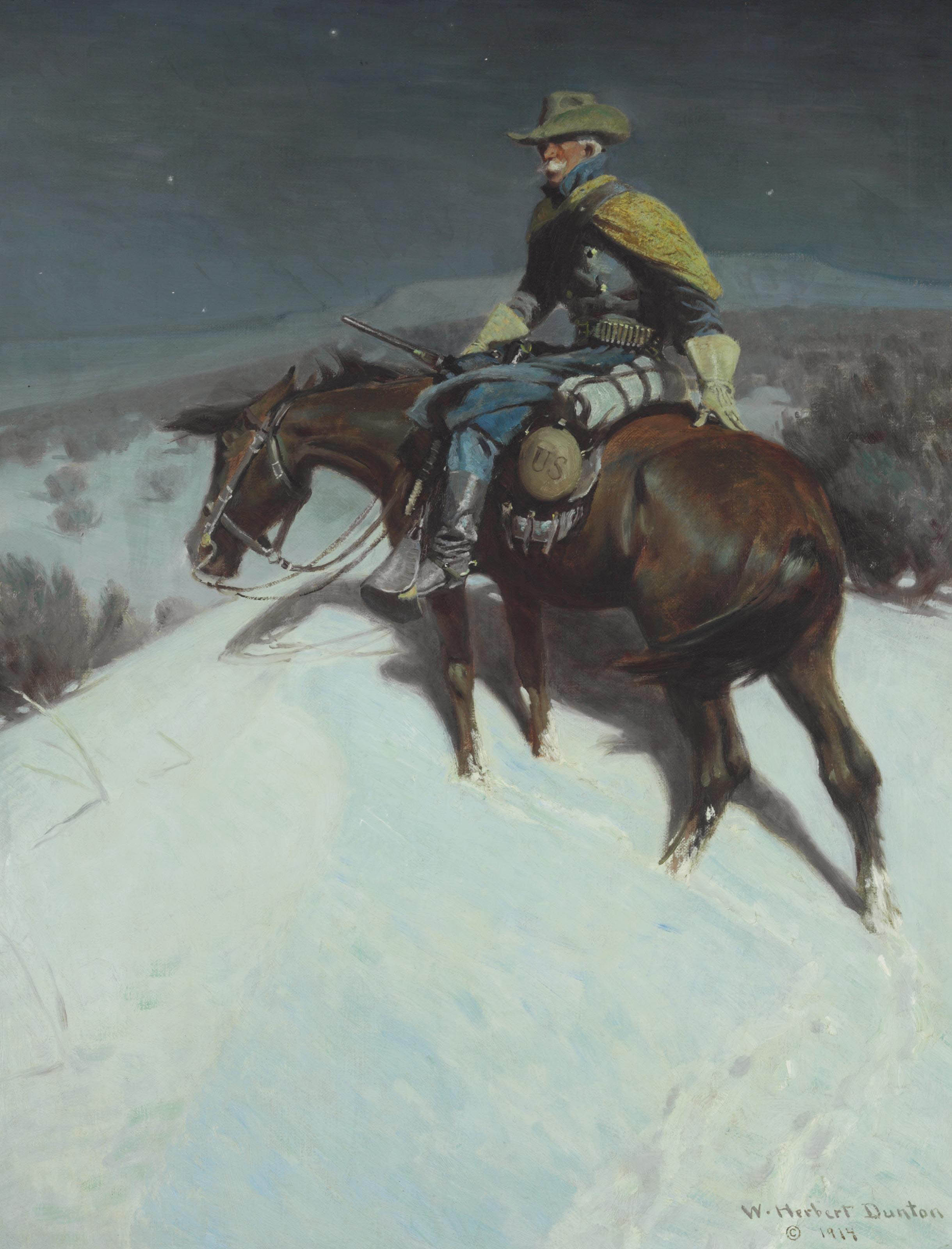 The Vidette--Custer Trooper
